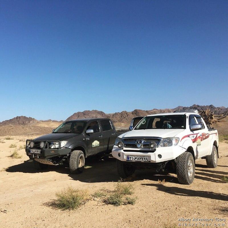 4wd tours in Iran