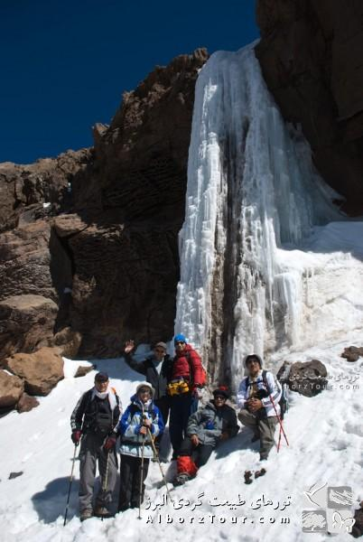 Damavand Ice Waterfall (Day 2)