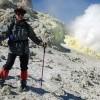 Sulphur gas eruption of Mount Damavand