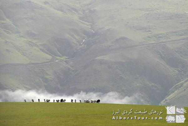 چشم انداز های روستای سوباتان