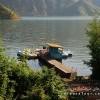 اسکله قایق سواری در سد