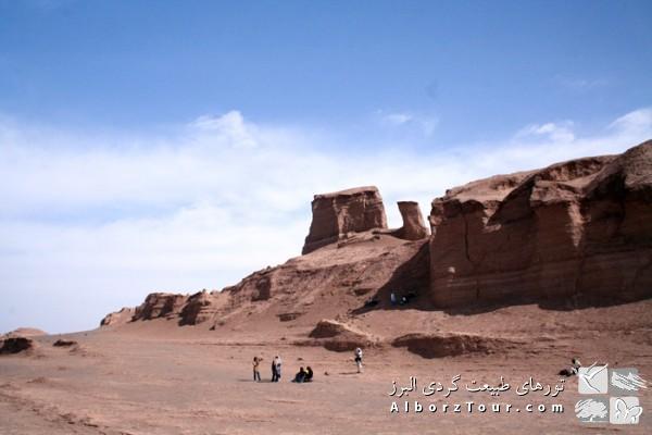 Trekking inside Kalouts of Lout Desert