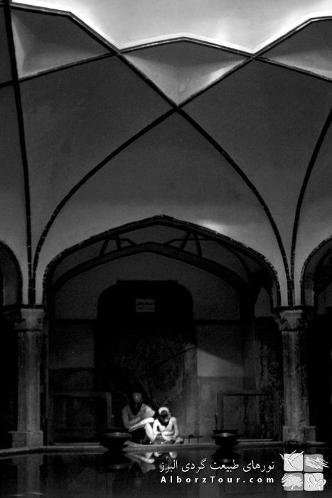 Ganjali Khan Bath inside Kerman Bazaar