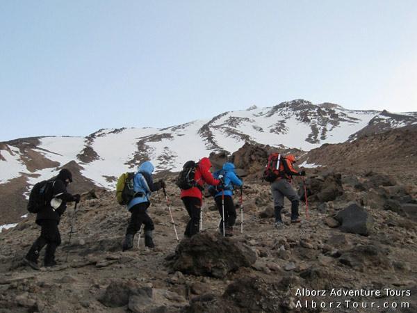 Damavand Climbing