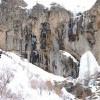آبشار سنگان در زمستان